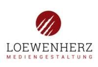 LOEWENHERZ Mediengestaltung Logo